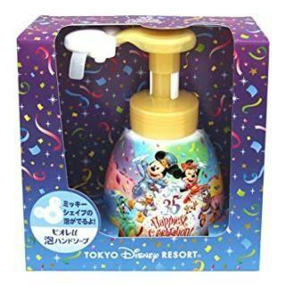 ディズニー(Disney)のディズニーランド 35周年 限定 ミッキーシェイプ ハンドソープ(ボディソープ / 石鹸)