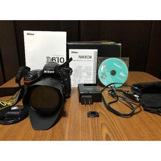 ニコン(Nikon)のD610 24-85VR キット ショット数4011(デジタル一眼)