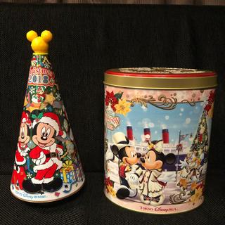 ディズニー(Disney)のディズニー クランチチョコ缶(小物入れ)