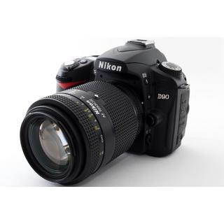 ニコン(Nikon)の☆Wi-Fi対応☆Nikon D90 中望遠ズームレンズセット☆(ミラーレス一眼)