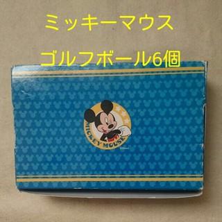 ディズニー(Disney)のミッキーマウス ゴルフボール 6個入り(ゴルフ)