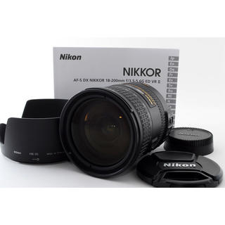ニコン(Nikon)の★極上★ニコン AF-S 18-200mm f3.5-5.6G VR DX II(レンズ(ズーム))