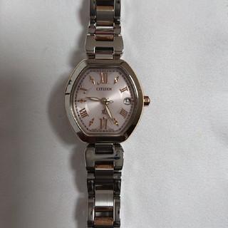 シチズン(CITIZEN)のXC ソーラー電波腕時計(腕時計)
