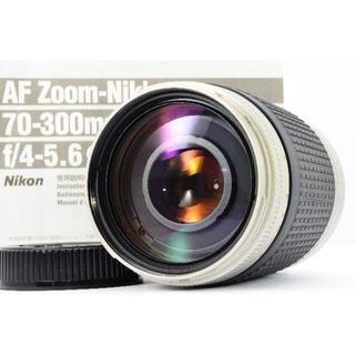 ニコン(Nikon)の✨ド迫力大望遠✨NIKON AF 70-300mm 4-5.6G シルバーカラー(レンズ(ズーム))