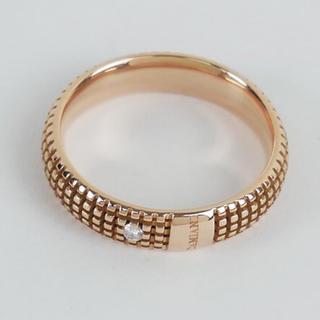 ダミアーニ(Damiani)の極美品 ダミアーニ メトロポリタン K18 ダイヤ リング ピンクゴールド 指輪(リング(指輪))