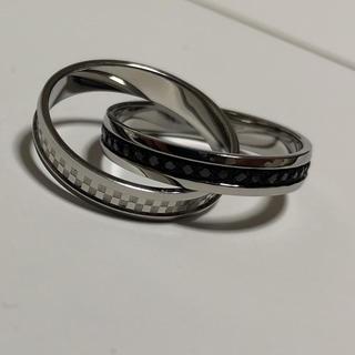 ブレス(BLESS)のBLESS ScommaG エスカマジー 指輪 2連リング 15号(リング(指輪))