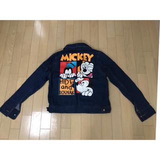 ディズニー(Disney)のミッキー☆ジージャン(Gジャン/デニムジャケット)