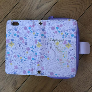 ディズニー(Disney)のラプンツェル iPhone6ケース ウォレットケース(iPhoneケース)