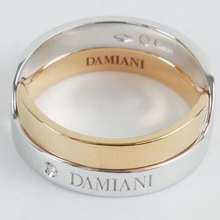 ダミアーニ(Damiani)の極美品 ダミアーニ アブラッチョ K18 ダイヤ リング コンビカラー 指輪(リング(指輪))