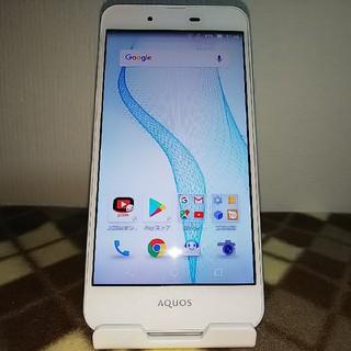 シャープ(SHARP)のAQUOS L2 SH-L02 ホワイト(スマートフォン本体)