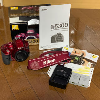 ニコン(Nikon)のNikon D5300 レッド デジタル一眼レフ ボディ(デジタル一眼)