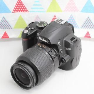 ニコン(Nikon)の★ショット数わずか1755回★ニコン D3000 レンズキット(デジタル一眼)