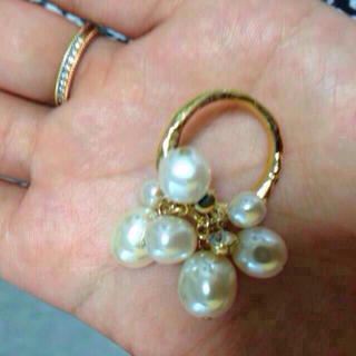 アクアガール(aquagirl)のaquagirl パールリング 結婚式(リング(指輪))