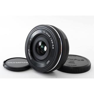オリンパス(OLYMPUS)の★新品未使用★オリンパス14-42mm EZ ブラック(レンズ(ズーム))