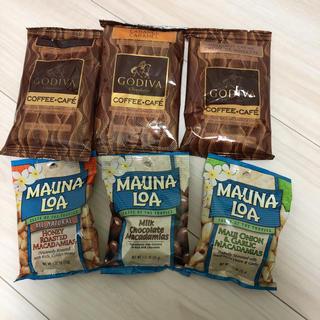 チョコレート(chocolate)の新品 ゴディバ コーヒー マカダミアナッツ マウナロア セット(コーヒー)