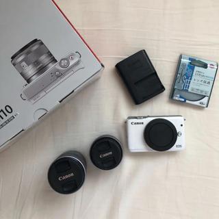 キヤノン(Canon)のCanon EOS M10(ミラーレス一眼)