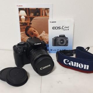 キヤノン(Canon)のCANON EOS kiss digital X一眼レフ(デジタル一眼)