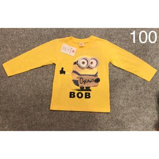 ミニオン(ミニオン)の未使用品【ミニオン】正規品  100 長袖 カットソー Tシャツ(Tシャツ/カットソー)