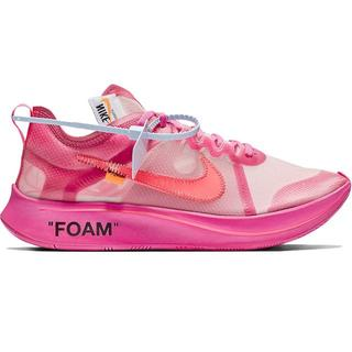 ナイキ(NIKE)のNike x Off-White Zoom Fly AJ4588-600(スニーカー)