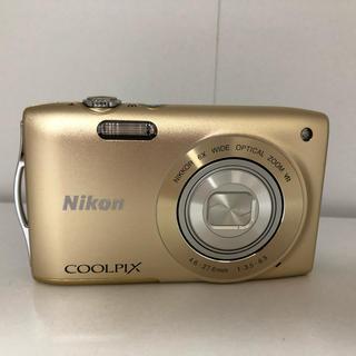 ニコン(Nikon)のNikon COOLPIX S3300(コンパクトデジタルカメラ)