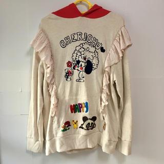 グラグラ(GrandGround)の美品♡チェリッチュ cherichu パーカー F 170〜175cm(Tシャツ/カットソー)