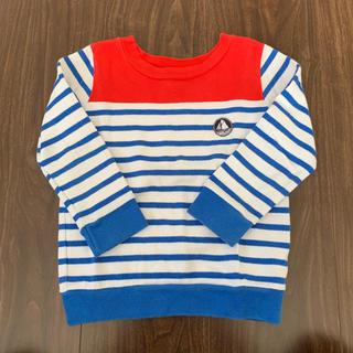 プチバトー(PETIT BATEAU)のプチバトー ボーダーTシャツ トレーナー(Tシャツ/カットソー)