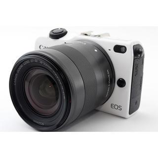 キヤノン(Canon)の☆スマホを使ってシャッターが切れる☆キャノン EOS M2 ホワイト(ミラーレス一眼)