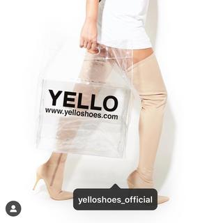 イエローブーツ(Yellow boots)のYELLO クリアショッパー(ブーツ)