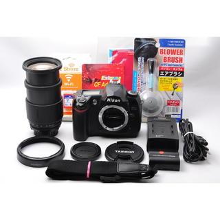 ニコン(Nikon)の❤️WiFi対応❤️ニコン D70s 中望遠レンズセット❤️(デジタル一眼)