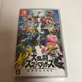 Nintendo Switch - nintendo switch 大乱闘スマッシュブラザーズ スイッチ ソフト