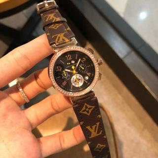 LOUIS VUITTON - LOUIS VUITTON ルイヴィトン モノグラム 腕時計 自動巻き