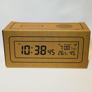 ムジルシリョウヒン(MUJI (無印良品))のデジタル電波時計(置時計)