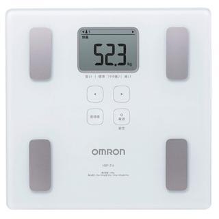オムロン 体重・体組成計 カラダスキャン ホワイト HBF-214-W 送料無料(体重計)