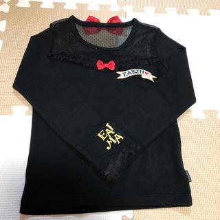 アースマジック(EARTHMAGIC)のアースマジック    シースルーロンT   120(Tシャツ/カットソー)