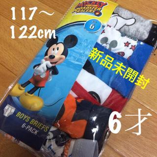 ディズニー(Disney)のキッズ  パンツ  ミッキーマウス  6才(下着)