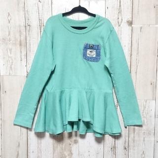 エフオーキッズ(F.O.KIDS)のF.O.KIDS  裾フリルチュニック120cm(Tシャツ/カットソー)