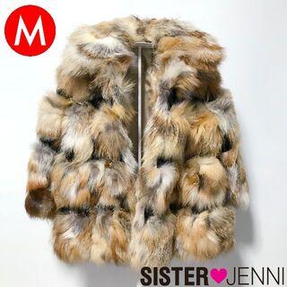 着用1回のみ!シスタージェニーの毛皮コート(フォックス)◆サイズ:M (コート)