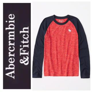 アバクロンビーアンドフィッチ(Abercrombie&Fitch)のXS◎新品正規品◎アバクロ◎Abercrombie&Fitch◎ロングTシャツ◎(Tシャツ/カットソー)