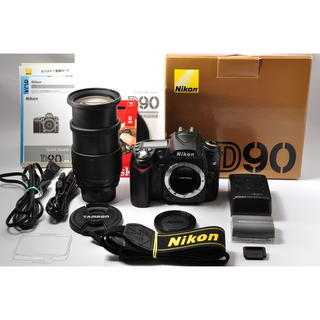 ニコン(Nikon)の❤️近くから遠くまでレンズ一本♪❤️ニコン D90 中望遠レンズセット❤️(デジタル一眼)