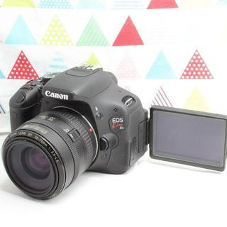 キヤノン(Canon)の★WifiSD&自撮りOK★Canon EOS kiss X5 レンズキット(デジタル一眼)