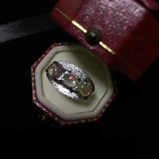 オパールシルバーリング(リング(指輪))