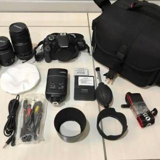 キヤノン(Canon)のCanon kissX5(SIGMA単焦点レンズ付き)(デジタル一眼)