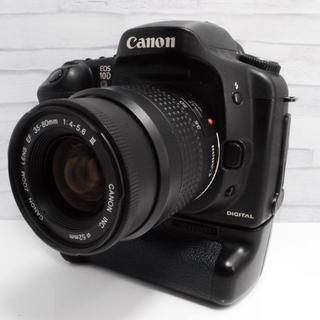 キヤノン(Canon)の★大人気★Canon EOS 10D バッテリーグリップ付き! (デジタル一眼)