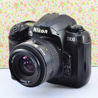 ✨愛され可愛い本格派★ニコン D100 レンズセット(デジタル一眼)