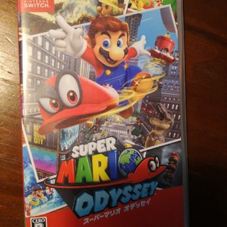 Nintendo Switch - SUPERマリオオデッセイ 任天堂スイッチソフト