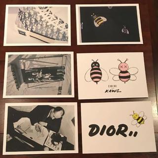 ディオール(Dior)のDior×kaws コラボポストカード6枚セット(その他)