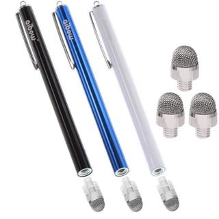 バカ売れ! タッチペン スマートフォン タブレット 黒+青+白(その他)