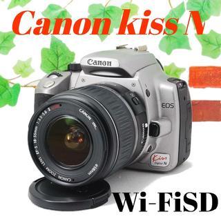 ❤️スマホに写真を送れる❤️Canon kiss N シルバー(デジタル一眼)
