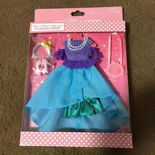 ディズニー(Disney)のTDRTDLTDS☆ディズニー☆ファッションドール☆着せ替えセット☆新品アリエル(キャラクターグッズ)