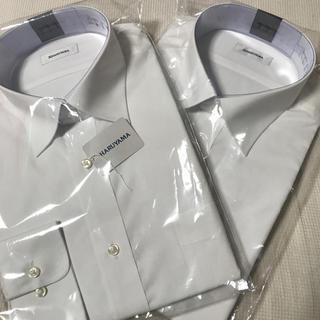 アオヤマ(青山)の【新品、未使用、未開封】HARUYAMA ワイシャツ 2枚組(シャツ)